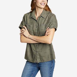 Thumbnail View 1 - Women's Wild River Flannel Short-Sleeve Shirt