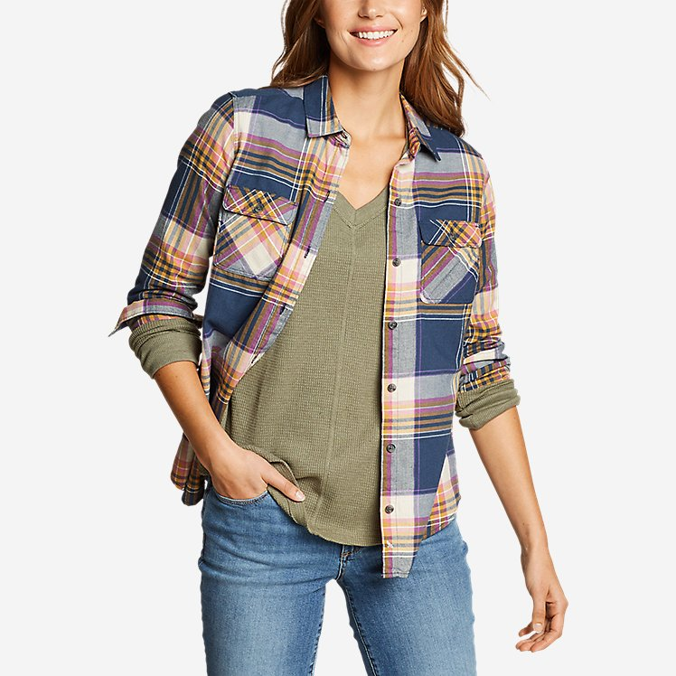 Women's Stine's Favorite Flannel Shirt - Classic large version