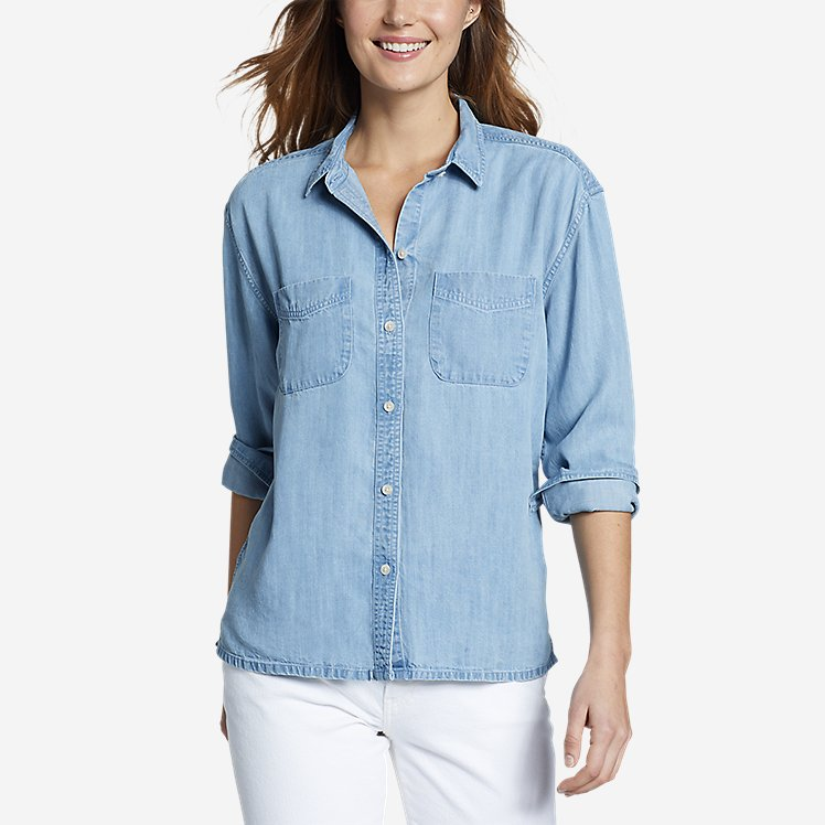 Women's Tranquil Two-Pocket Shirt large version