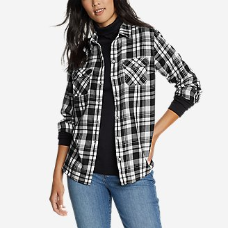 Thumbnail View 1 - Women's Firelight Flannel Shirt
