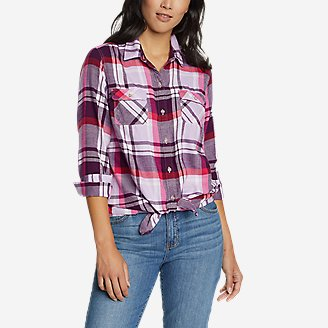 Thumbnail View 1 - Women's Firelight Flannel Shirt