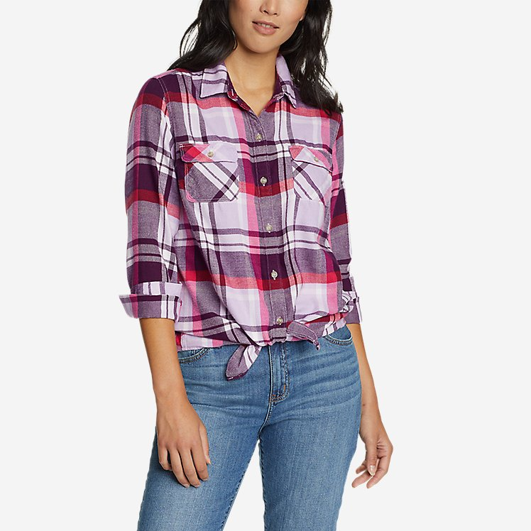 Women's Firelight Flannel Shirt large version