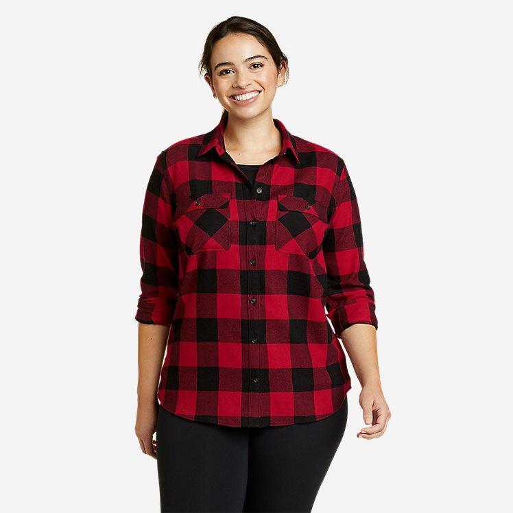 Women's Firelight Flannel Shirt large version