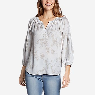 Thumbnail View 1 - Women's Tranquil Long-Sleeve Top