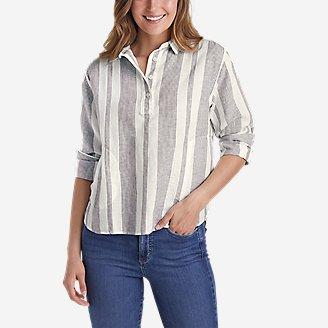 Thumbnail View 1 - Women's Beach Light Linen Shirt