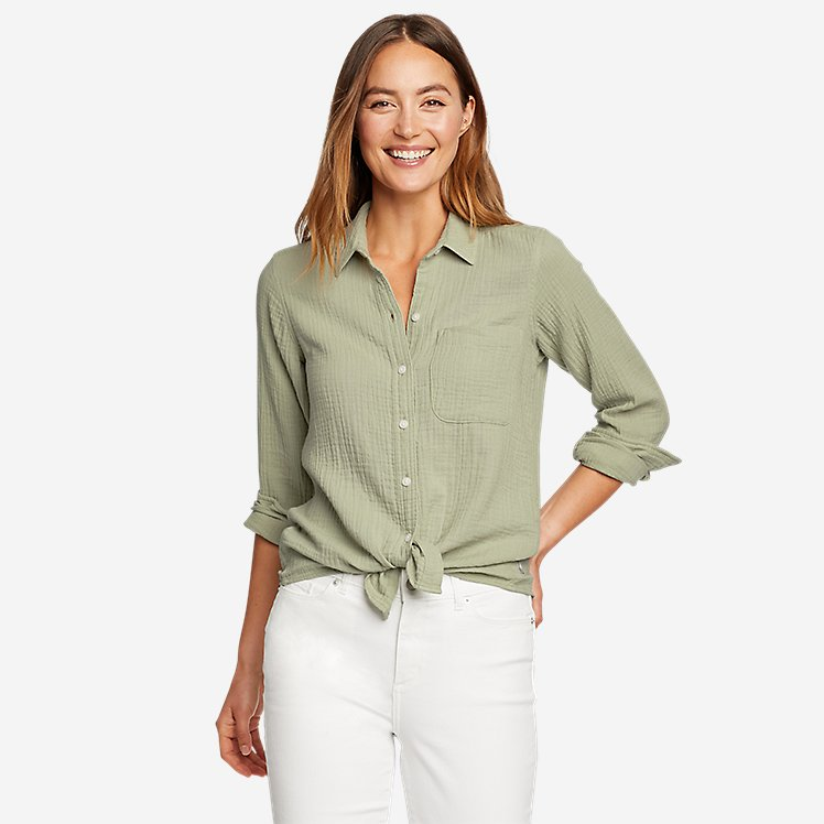 Women's Carry-On Button-Down Shirt large version