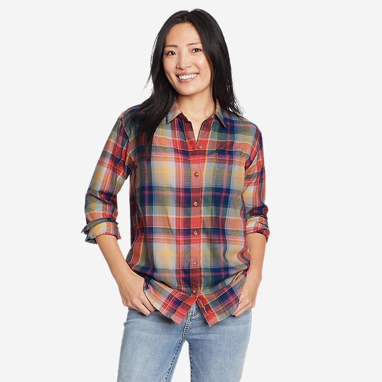 Women's Firelight Flannel Shirt - Boyfriend large version