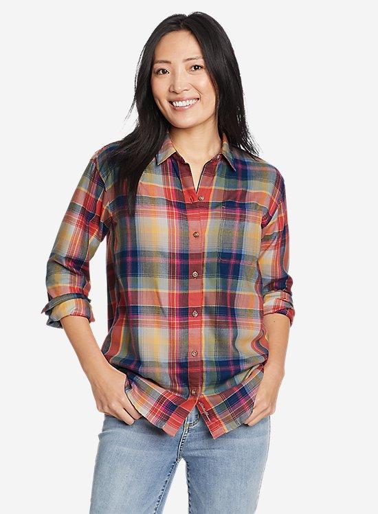 Firelight Flannel Shirt - Boyfriend