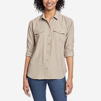 Thumbnail View 1 - Women's Tranquil Sandwash Long-Sleeve Shirt