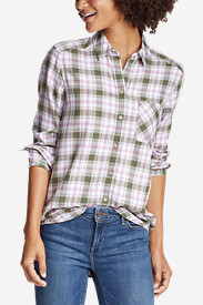 Women's Tranquil Boyfriend Shirt - Plaid