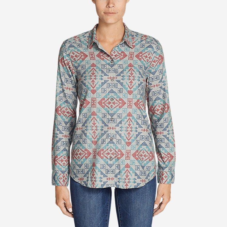 Women's Stine's Favorite Flannel Shirt - Boyfriend large version