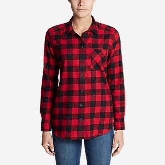Thumbnail View 1 - Women's Stine's Favorite Flannel Shirt - Boyfriend