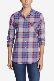 Women's Stine's Favorite Flannel Shirt - Boyfriend