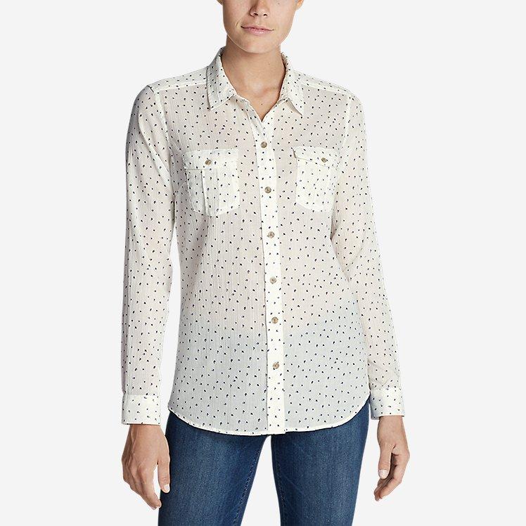 Women's Packable Shirt - Print large version
