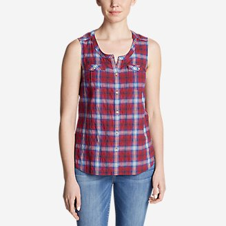 Thumbnail View 1 - Women's Packable Sleeveless Shirt