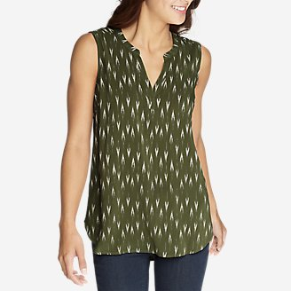 Thumbnail View 1 - Women's Sunrise Sleeveless Popover Shirt