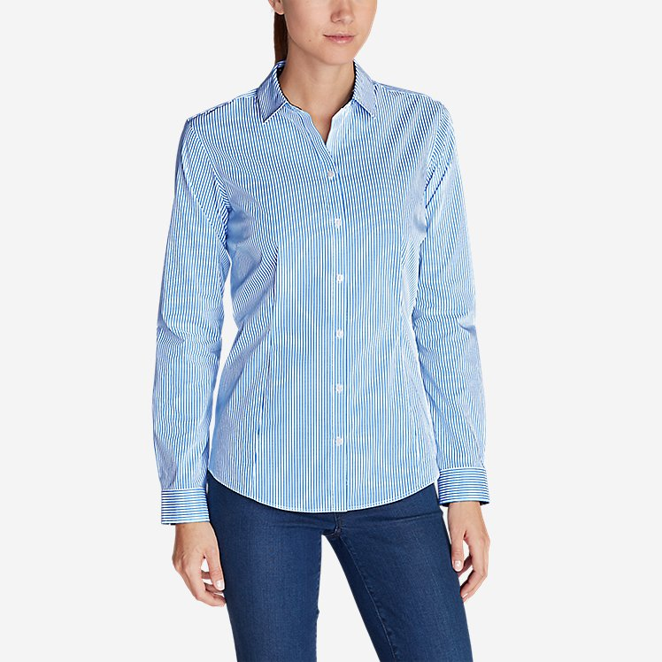 Women's Wrinkle-Free Long-Sleeve Shirt - Print large version