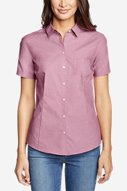 Women's Wrinkle-Free Short-Sleeve Shirt - Solid