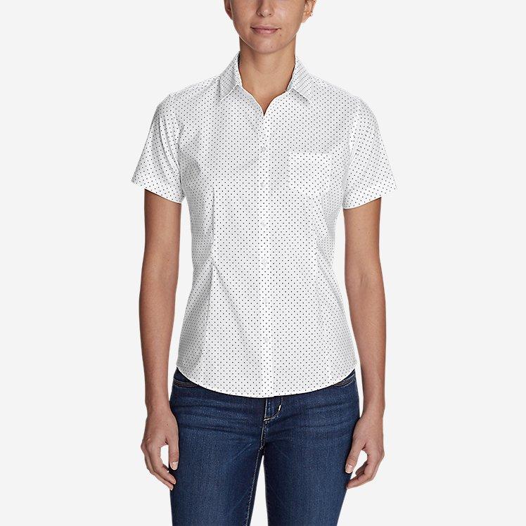 Women's Wrinkle-Free Short-Sleeve Shirt - Print large version