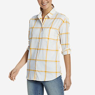 Thumbnail View 1 - Women's Stine's Favorite Spring Flannel 2.0 Shirt - Boyfriend