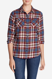 Women's Stine's Favorite Flannel Shirt - Plaid