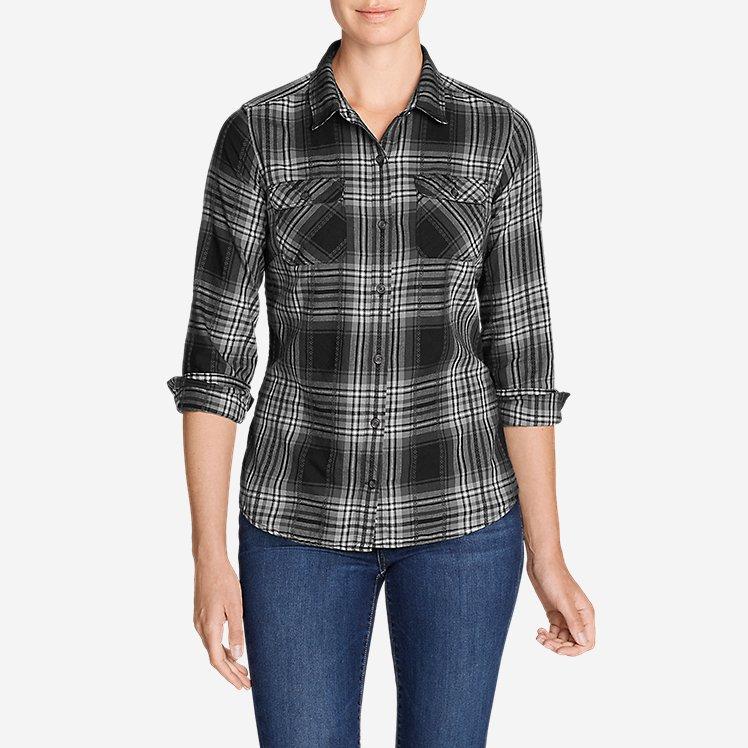 Women's Stine's Favorite Flannel Shirt - Plaid large version