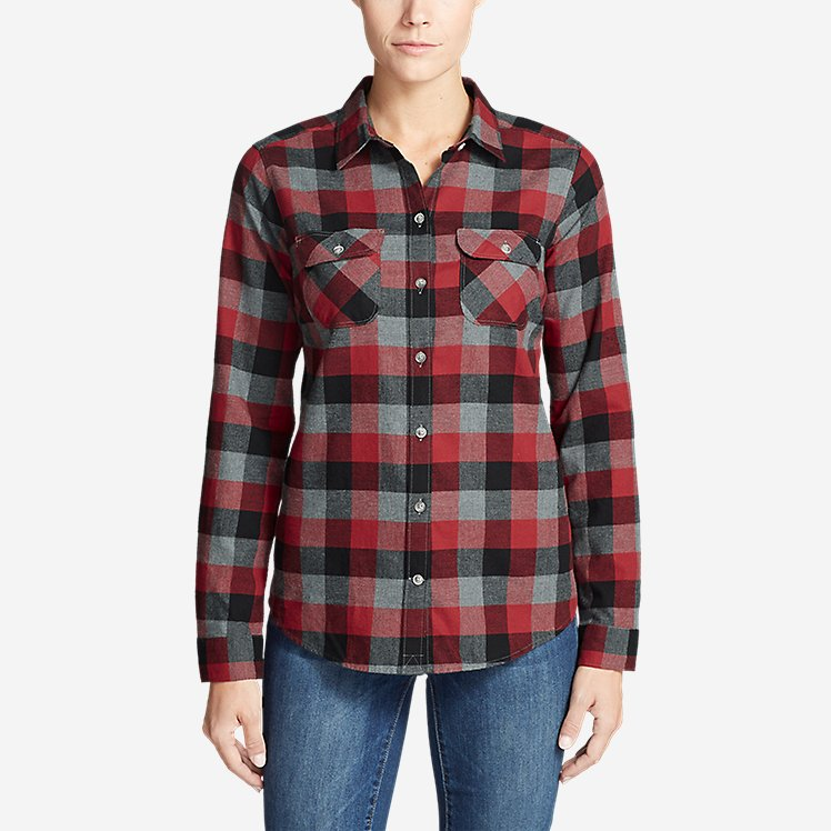 Women's Stine's Favorite Flannel Shirt - Plaid large version