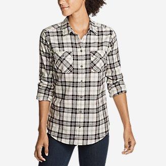 Thumbnail View 1 - Women's Stine's Favorite Flannel Shirt - Plaid
