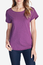 Women's Girl On The Go® Gate Check Top - Stripe