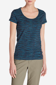 Women's Lookout T-Shirt - Space Dye Stripe
