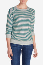 Women's Legend Wash Crewneck Sweatshirt - Stripe