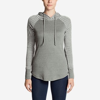 Thumbnail View 1 - Women's Favorite Pullover Hoodie - Stripe