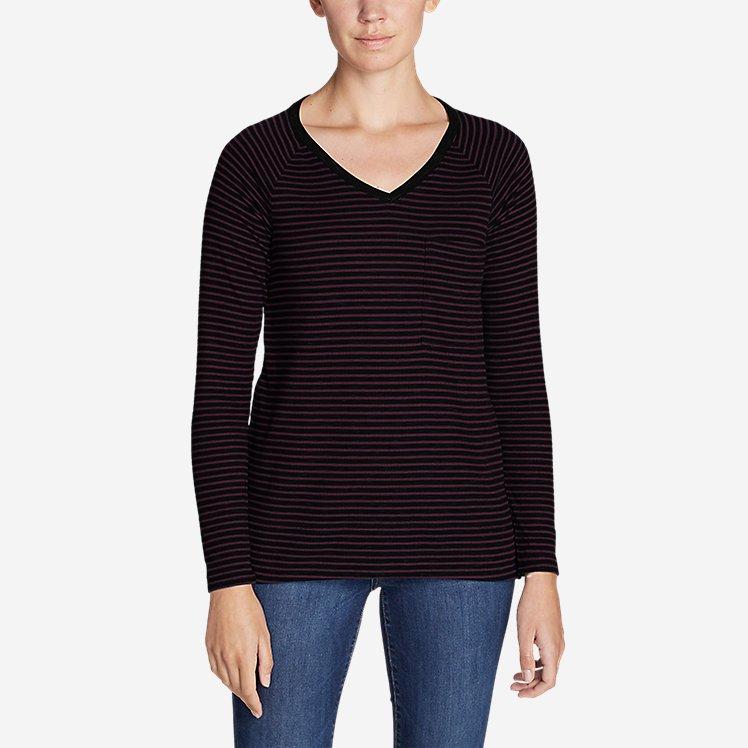 Women's Meadow Knit Long-Sleeve Raglan Top large version