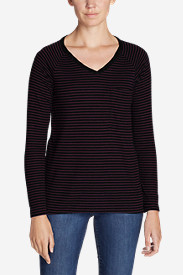 Women's Meadow Knit Long-Sleeve Raglan Top