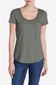 Women's Gypsum T-Shirt - Striped