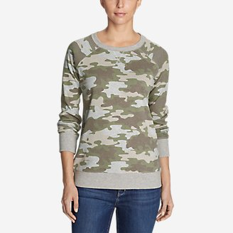 Thumbnail View 1 - Women's Legend Wash Sweatshirt - Allover Print