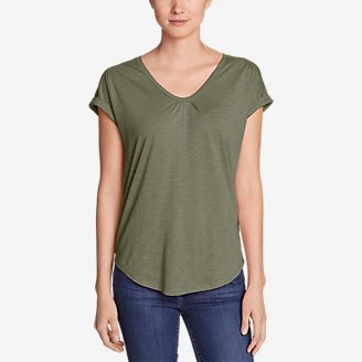 Thumbnail View 1 - Women's Gatecheck Tunic T-Shirt