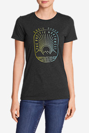 Women's Graphic T-Shirt - Pacific Northwest Sunset