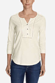 Women's Lola 3/4-Sleeve Henley Shirt
