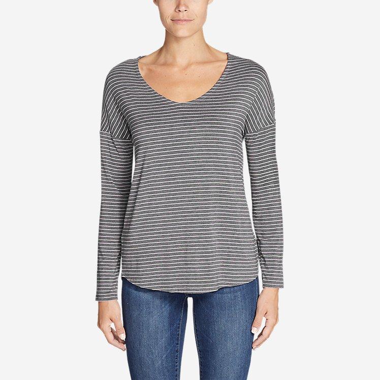 Women's Celestial Ultrasoft Long-Sleeve V-Neck T-Shirt large version