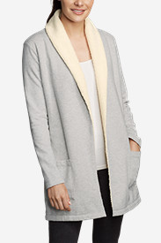 Women's Camp Fleece Sherpa Cardigan