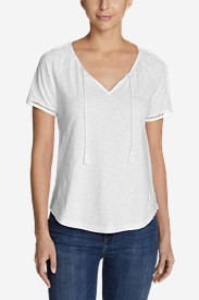 Women's Mountain Meadow Tie-Front Top - Solid