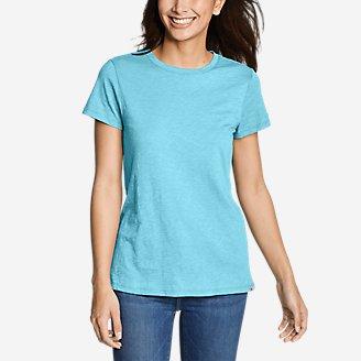 Thumbnail View 1 - Women's Legend Wash Slub Short-Sleeve Crew T-Shirt