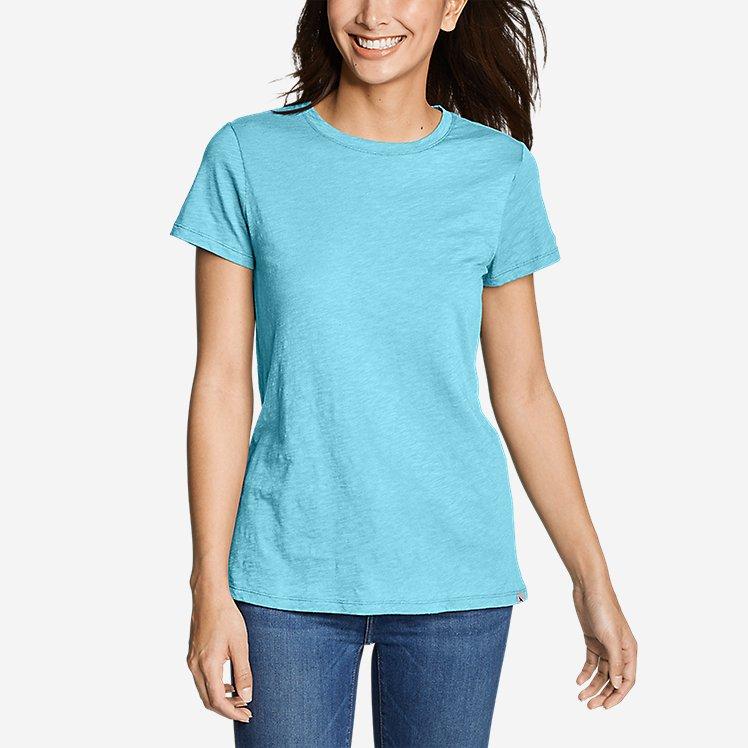 Women's Legend Wash Slub Short-Sleeve Crew T-Shirt large version
