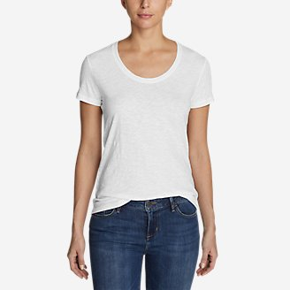 Thumbnail View 1 - Women's Legend Wash Slub Short-Sleeve Scoop-Neck T-Shirt