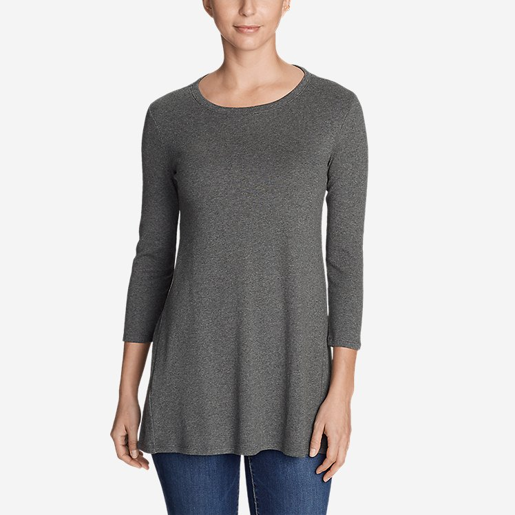 Women's Favorite 3/4-Sleeve Tunic T-Shirt large version