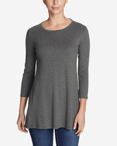 Women's Favorite 3/4 Sleeve Tunic T Shirt by Eddie Bauer