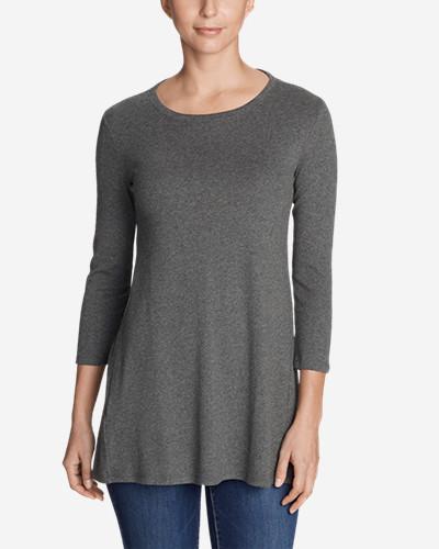 Women's Favorite 3/4 Sleeve Tunic T Shirt by Eddie Bauer
