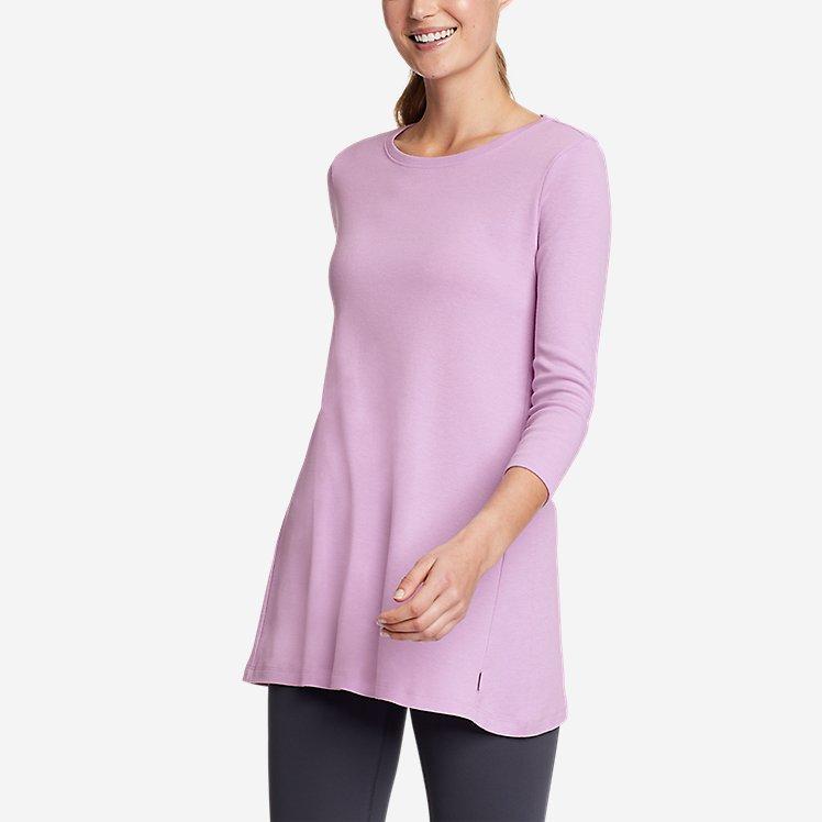 Women's Favorite 3/4-Sleeve Tunic T-Shirt large version