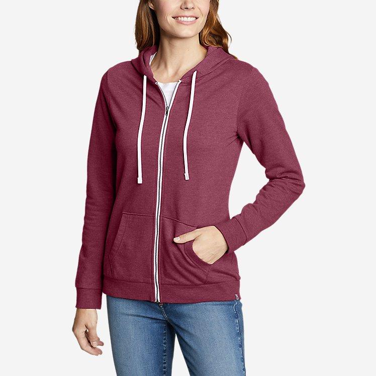 Women's Camp Fleece Full-Zip Hoodie large version